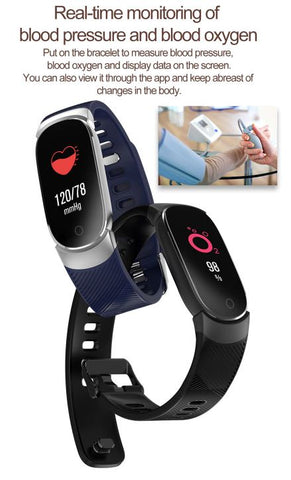 smartwatch fitness tracker with heart monitor function
