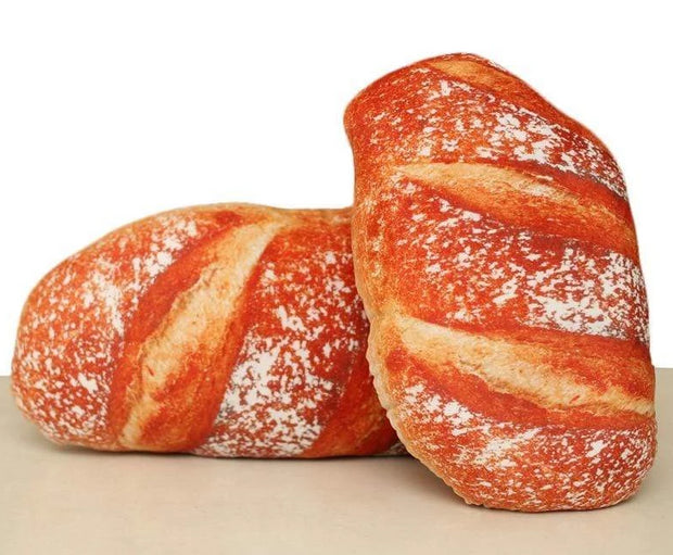 3D Bread Pillow Plush Toy Trendy Joys