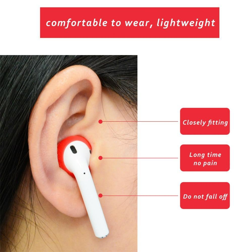 4 in 1 Shockproof Earphone Case For AirPods and Earpods Black Trendy Joys