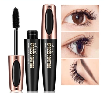 4D Silk Fiber Eyelash Mascara Trendy Joys