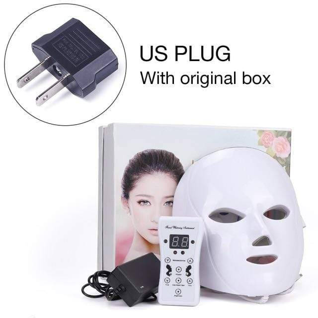 Anti-Aging LED Light Therapy Mask US PLUG with BOX Trendy Joys