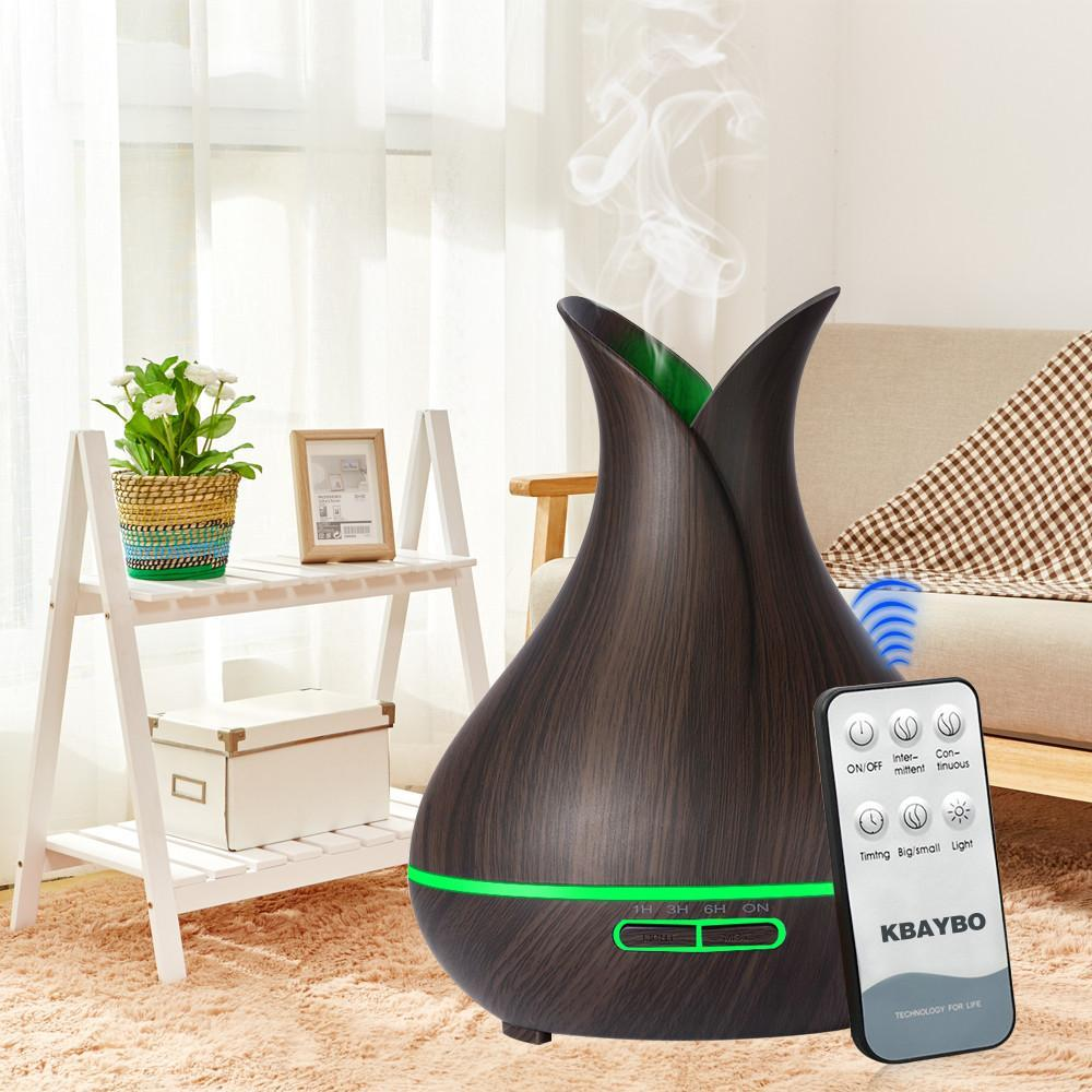 Aroma Essential Oil Diffuser dark wood / AU Trendy Joys