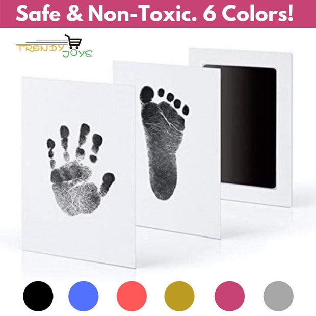 Baby Hand & Foot Ink Print Kit 1pc Black Ink Trendy Joys