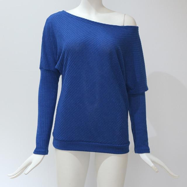 Baggy Sweater Blue / S Trendy Joys