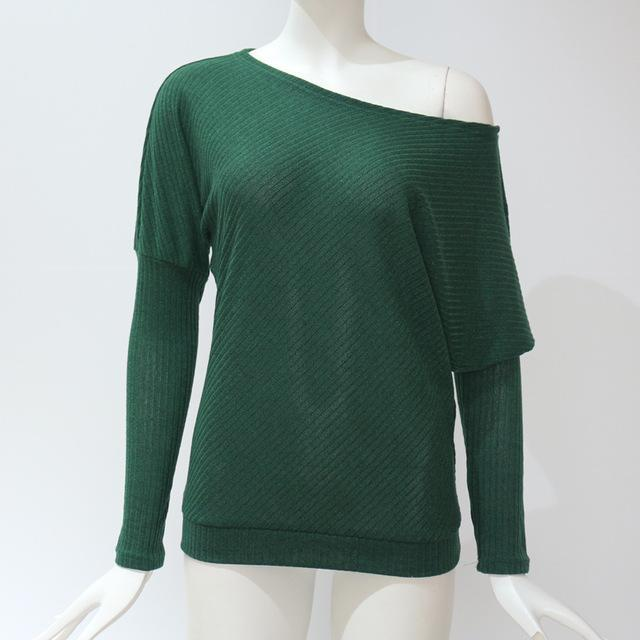 Baggy Sweater Green / S Trendy Joys