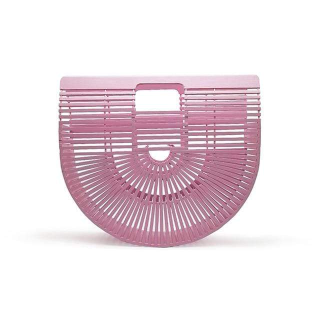 Bamboo Bag - Purse pink small Trendy Joys
