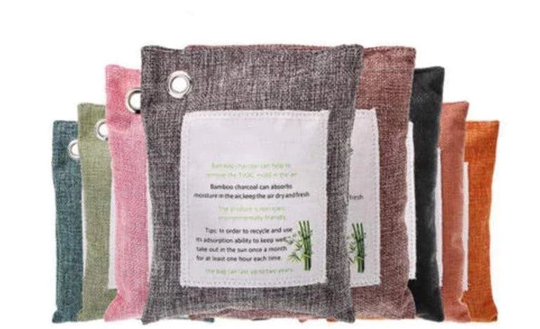 Bamboo Charcoal Air Purifier Bags Trendy Joys