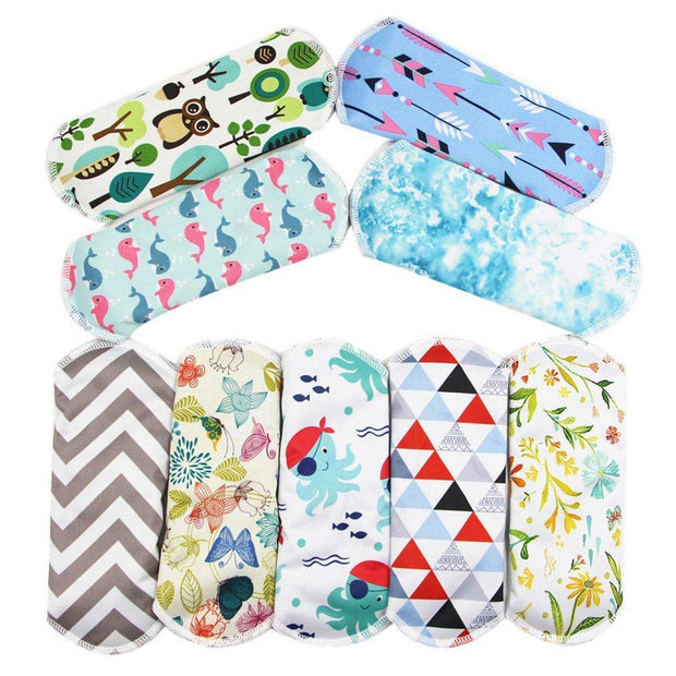 Bamboo Reusable Menstrual Sanitary Pads 1 PC Trendy Joys
