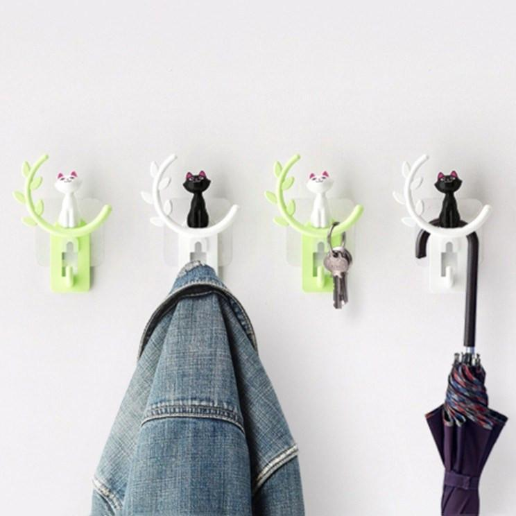 Bathroom Wall Hooks Green Trendy Joys