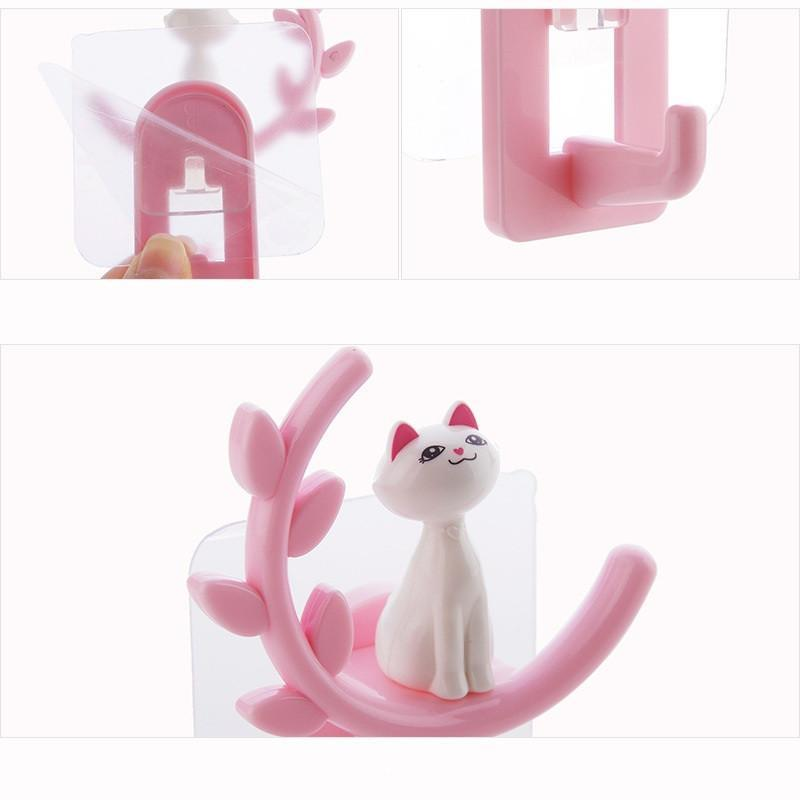 Bathroom Wall Hooks Pink Trendy Joys