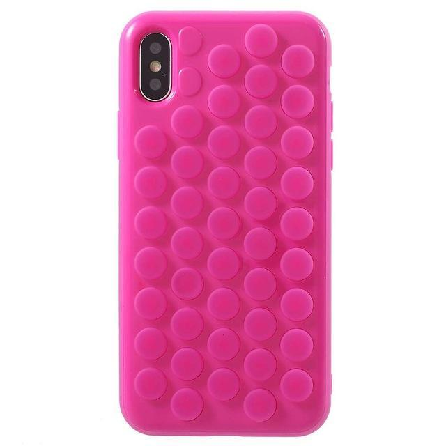 Bubble Wrap iPhone Case Pink / iPhone 5 5s se Trendy Joys
