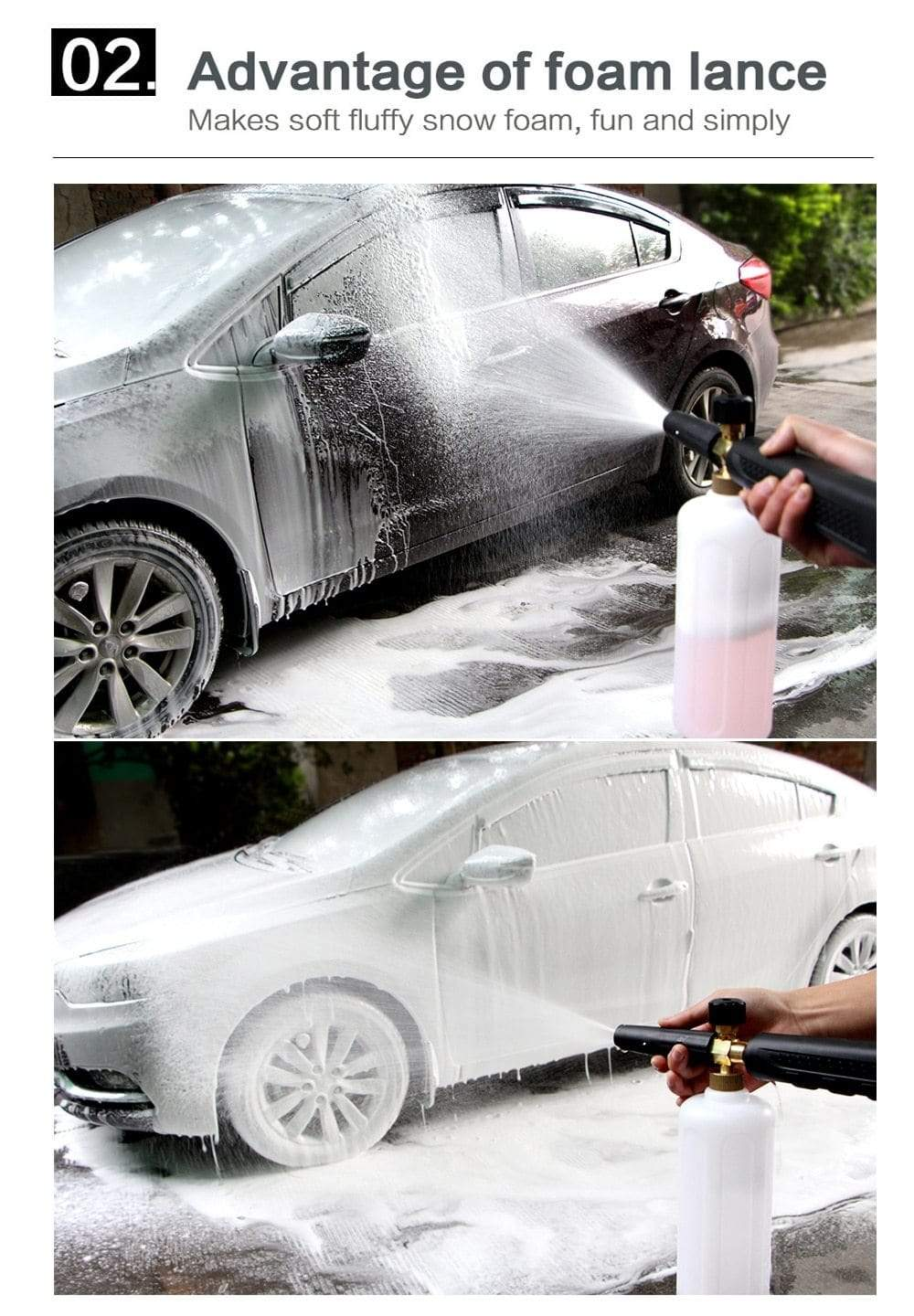 Car Wash Foam Cannon Trendy Joys
