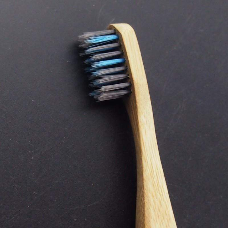 Eco Friendly Bamboo Toothbrush and Bamboo Charcoal Toothbrush Bamboo Charcoal Bristle Toothbrush Trendy Joys