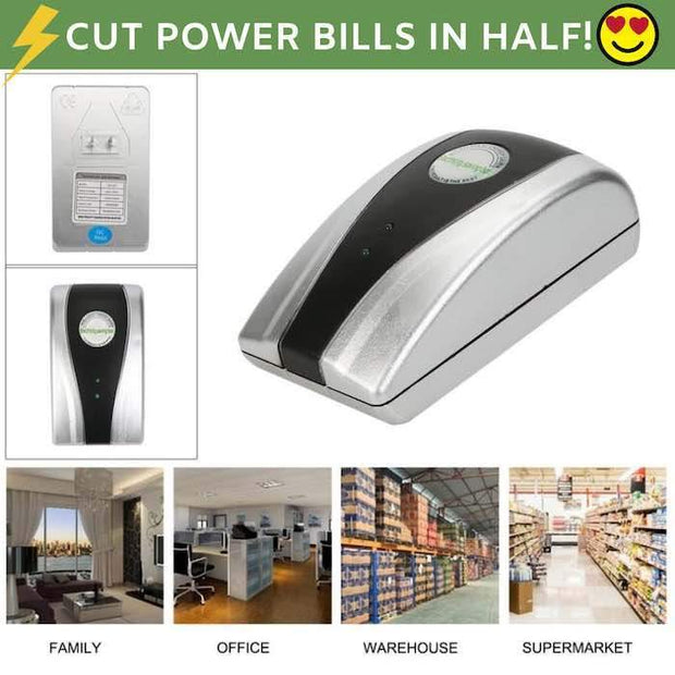 EcoWatt Energy & Electricity Saving Device US  Plug Trendy Joys