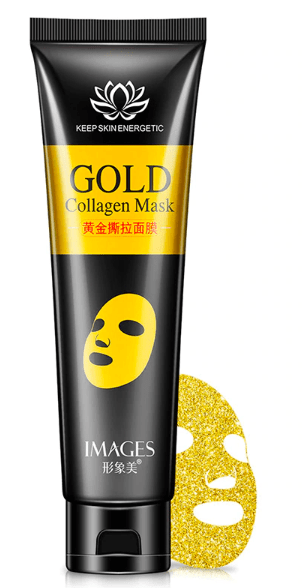 Facelifting Peel-Off Gold Mask Trend Frenzys