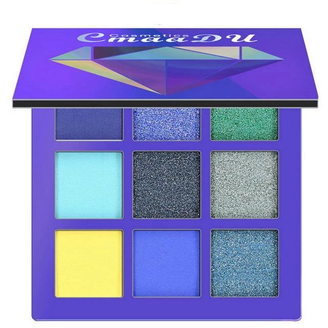 Glitter Palette Eyeshadow 1pcs 1 Trendy Joys