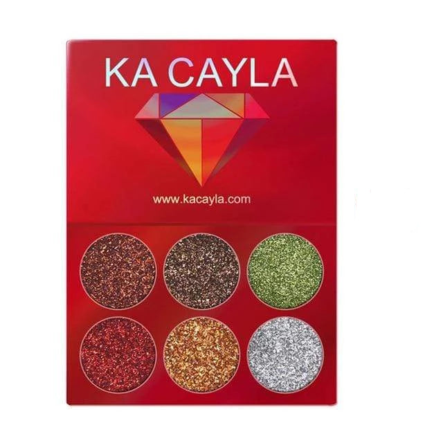 Glitter Palette Eyeshadow 1pcs 10 Trendy Joys