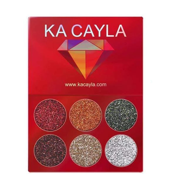 Glitter Palette Eyeshadow 1pcs 7 Trendy Joys