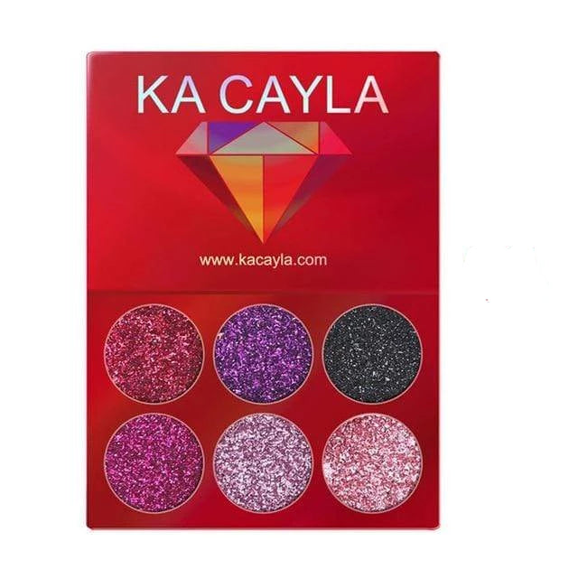 Glitter Palette Eyeshadow 1pcs 8 Trendy Joys