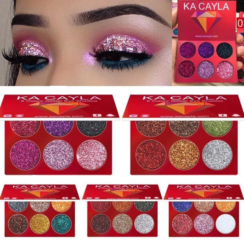 Glitter Palette Eyeshadow Trendy Joys