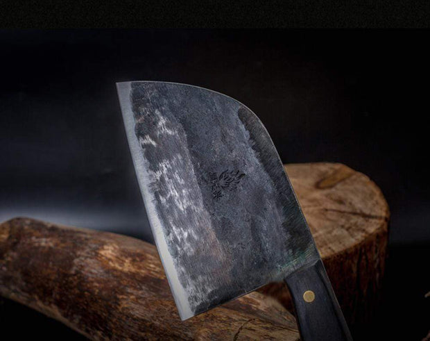 Hand Forged Hunter's Serbian Chef Knife Trendy Joys