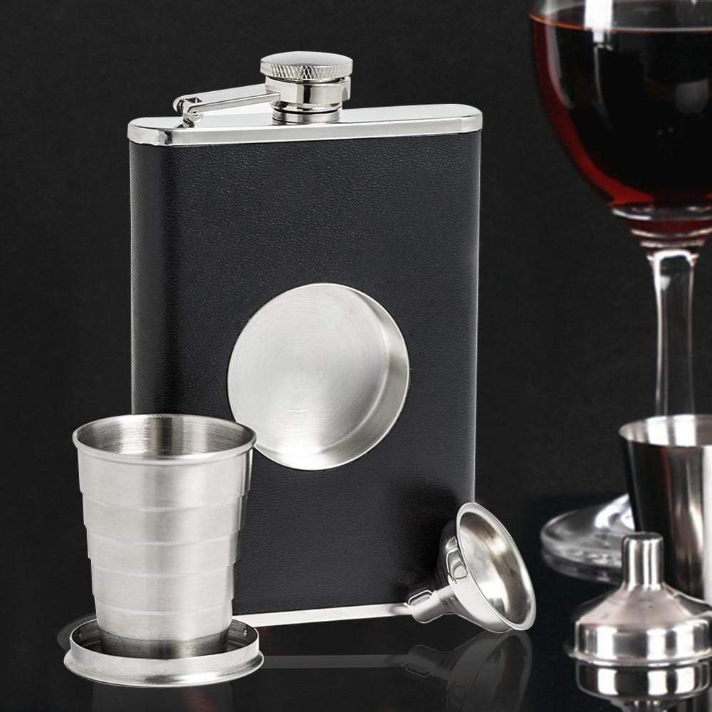 Hidden Shot Flask Trendy Joys