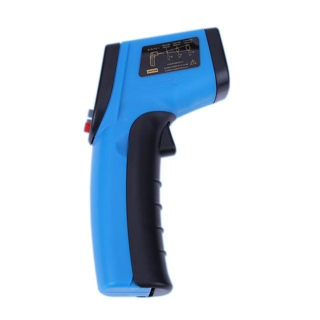 Infrared Digital Thermometer Blue Trendy Joys