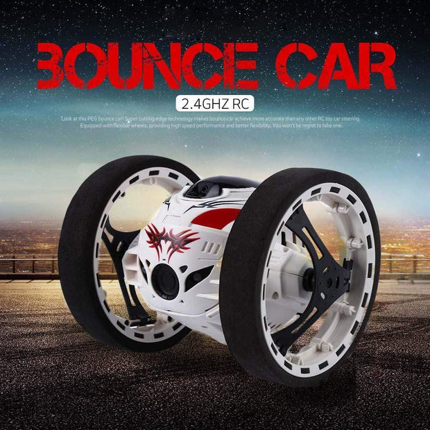 Jumping Sumo Bounce Car Drone White Trendy Joys