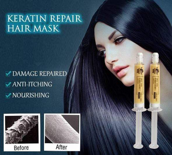 Keratin Repair Hair Mask (2 Pack) Trend Frenzys