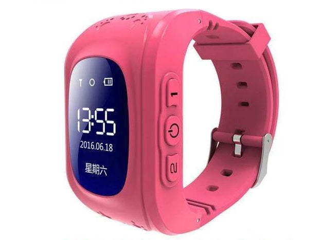 Kids Smartwatch Pedometer & Fitness Tracker - Classic Design Red Trendy Joys