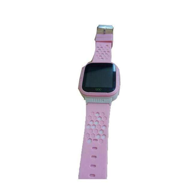 Kids Smartwatch Pedometer & Fitness Tracker - Owl Design Pink + White Trendy Joys