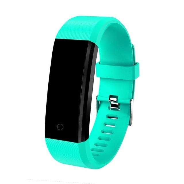 Kids Smartwatch Pedometer & Fitness Tracker - Sporty Design Mint green Trendy Joys