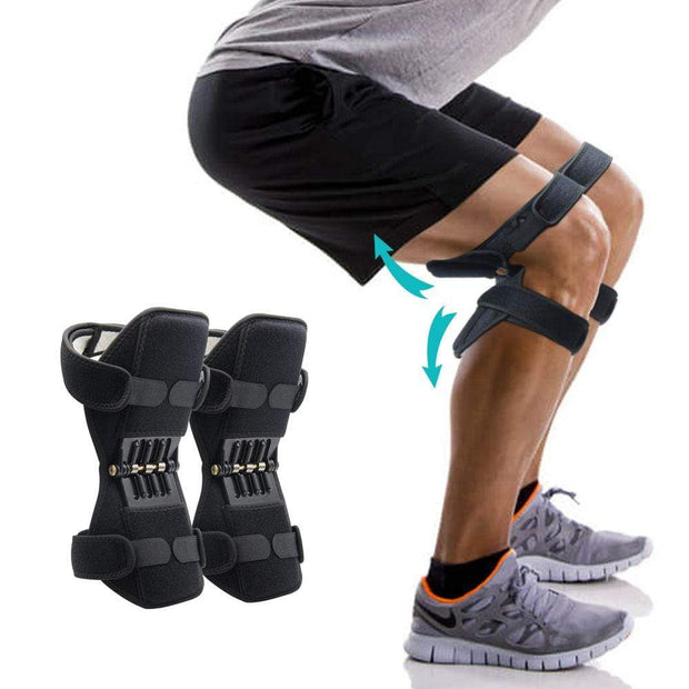 Knee Brace Support and Spring Knee Booster Trendy Joys