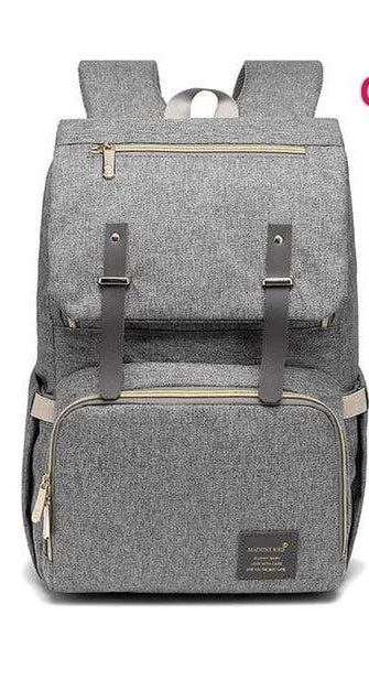 Laptop Diaper Bag Original / Gray Trendy Joys