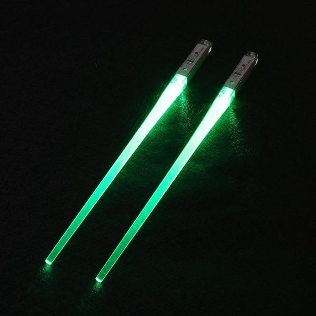 Light Up Chopsticks Green Trendy Joys