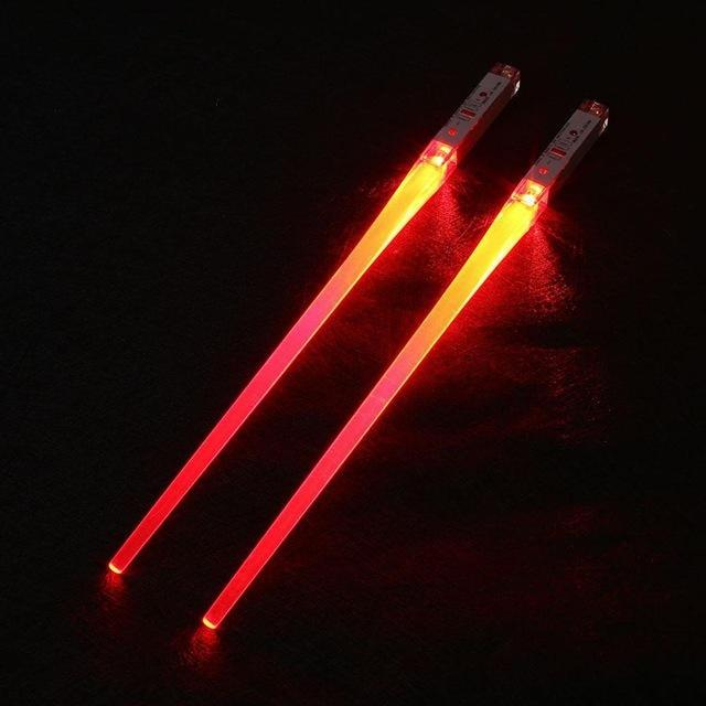 Light Up Chopsticks Red Trendy Joys