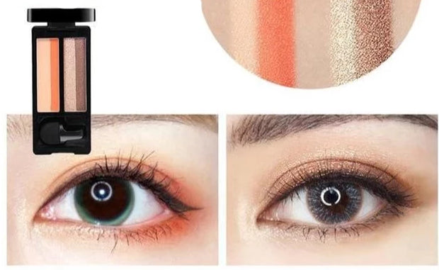 One Swipe Eyeshadow Pumpkin Orange Trendy Joys