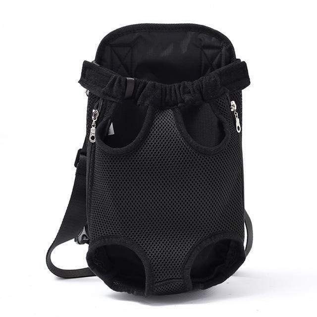 Pet Carrier Dog Front Chest Backpack black / S Trend Frenzys