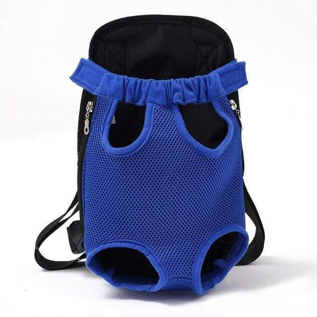 Pet Carrier Dog Front Chest Backpack blue / S Trend Frenzys