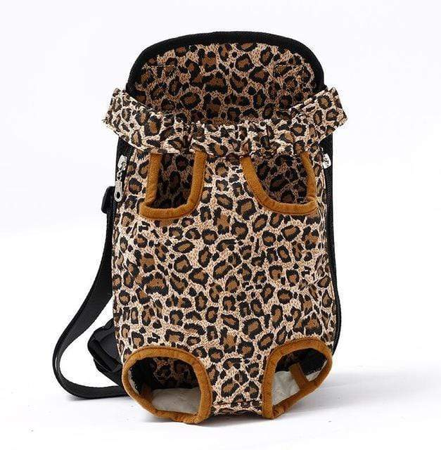 Pet Carrier Dog Front Chest Backpack leopard / S Trend Frenzys