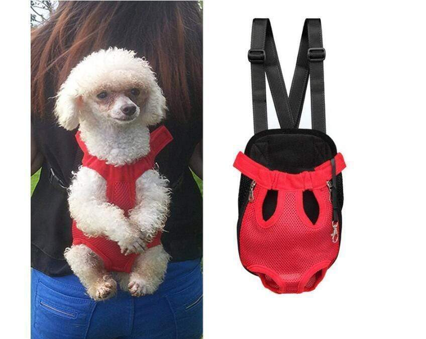 Pet Carrier Dog Front Chest Backpack rainbow / S Trend Frenzys