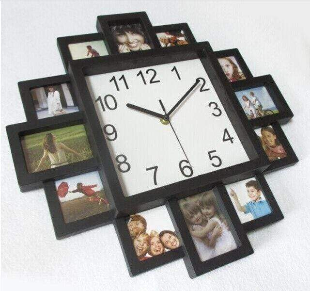 Photo Clock Trendy Joys