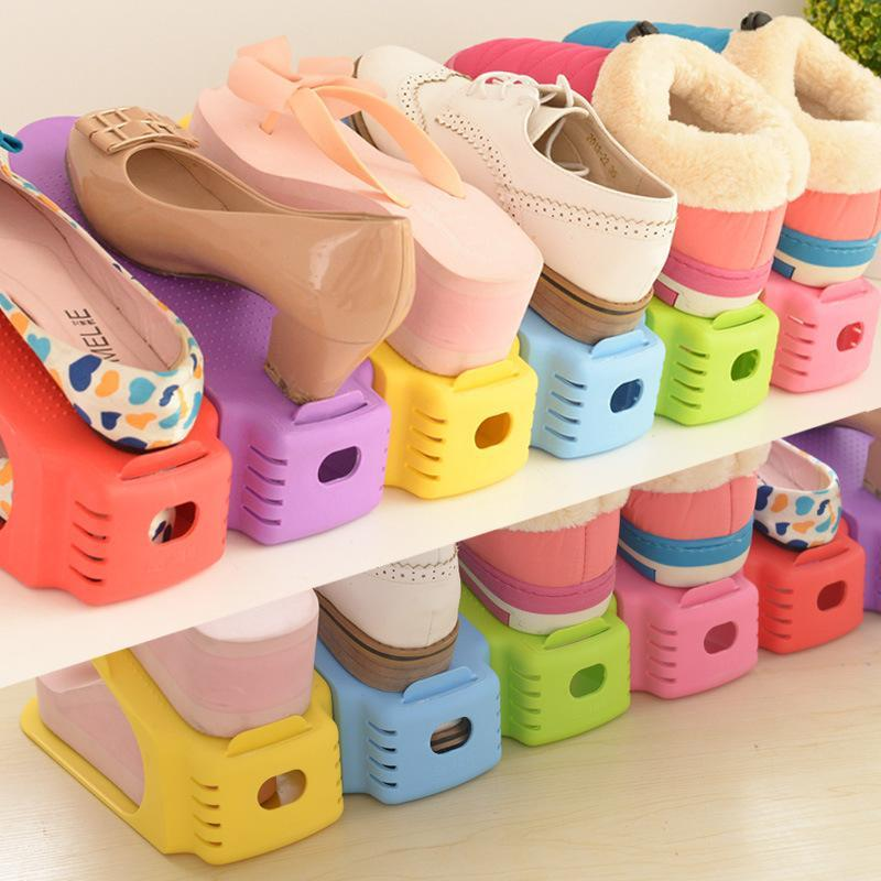 Shoes Organizer Pink Trendy Joys