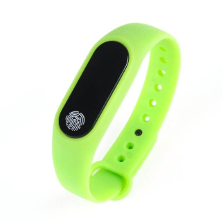 Smartwatch Fitness Tracker Bracelet Green Trendy Joys