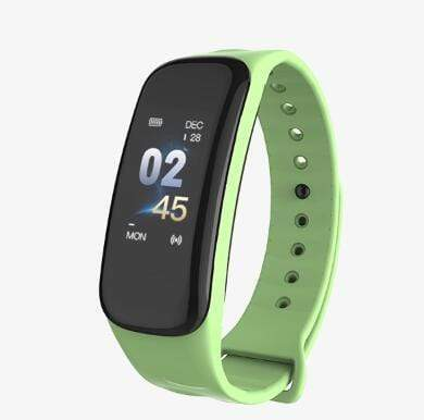 Smartwatch Fitness Tracker with Heart & Sleep Monitor Green Trendy Joys