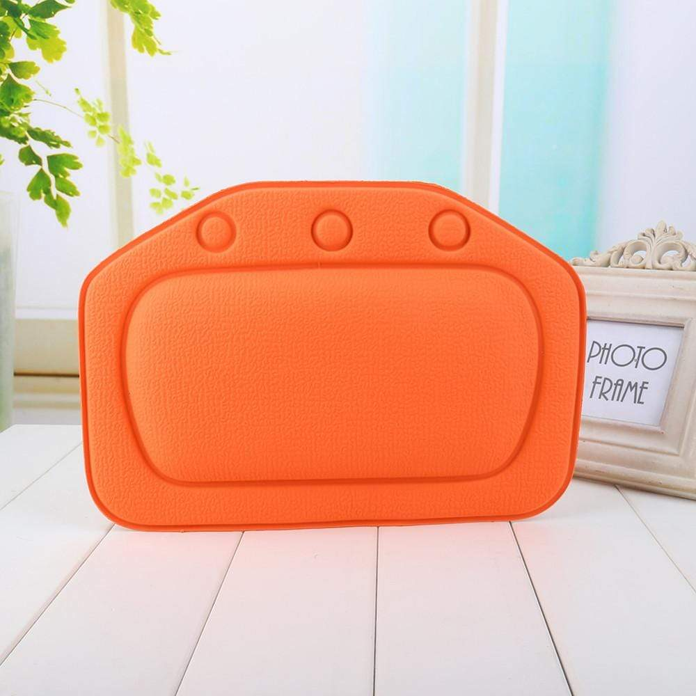 Spa Pillow Orange Trendy Joys