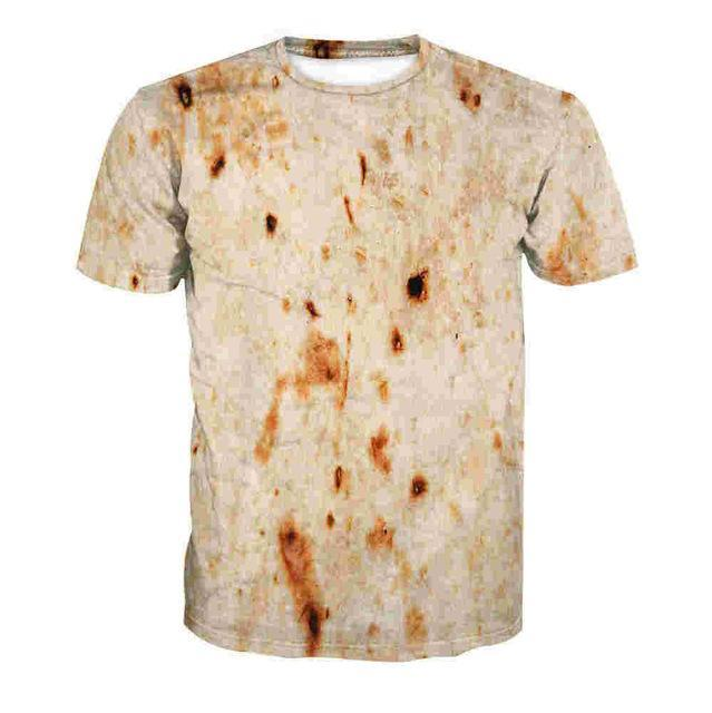 The Official Burrito Tortilla Tshirt S Trendy Joys