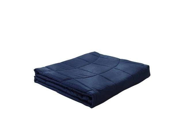 Weighted Gravity Blanket for Adults and Kids Indigo 41x60in / 7lb Trendy Joys