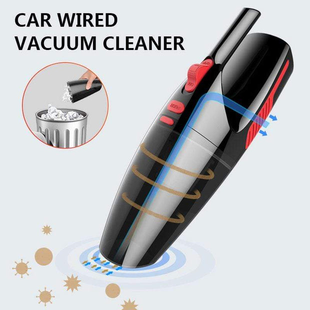 Wet/Dry Handheld Car Vacuum Cleaner Trendy Joys