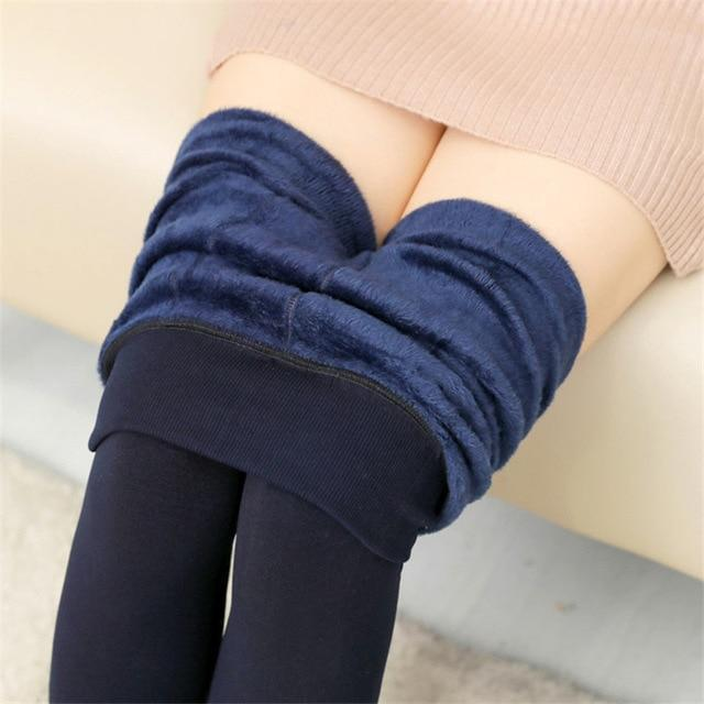 Women's Autumn And Winter Leggings Blue / S Trendy Joys